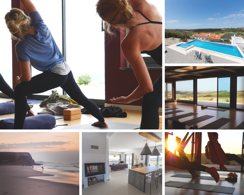 yoga retreat in Lourinha