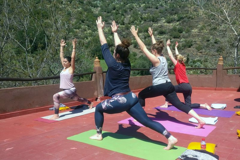 yoga retreat atlas mountains