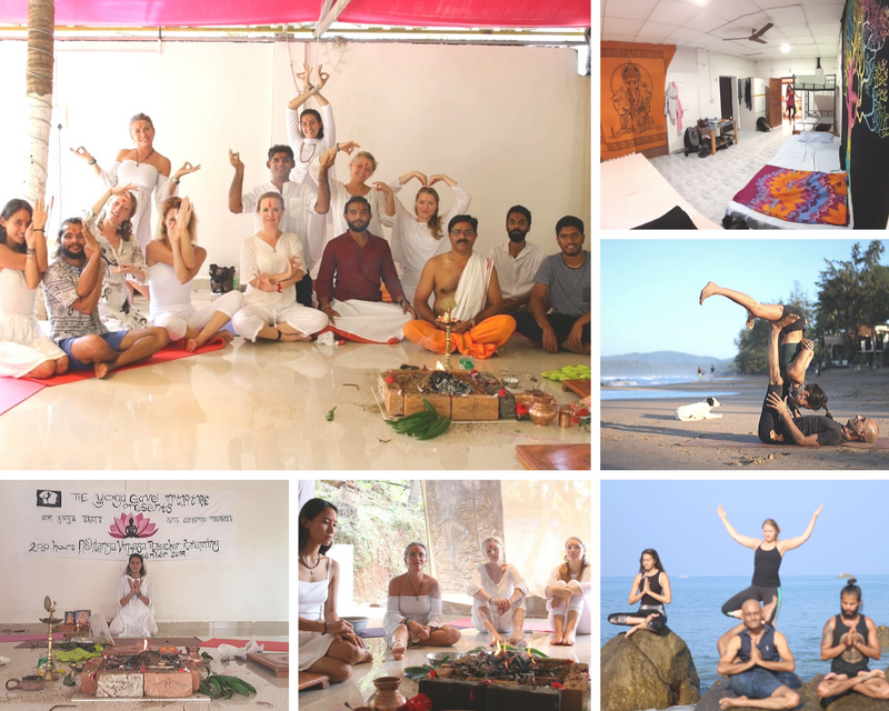 yoga retreat south goa