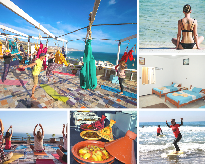 yoga retreat in taghazout morocco