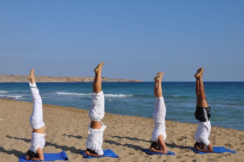 yoga in crete greece