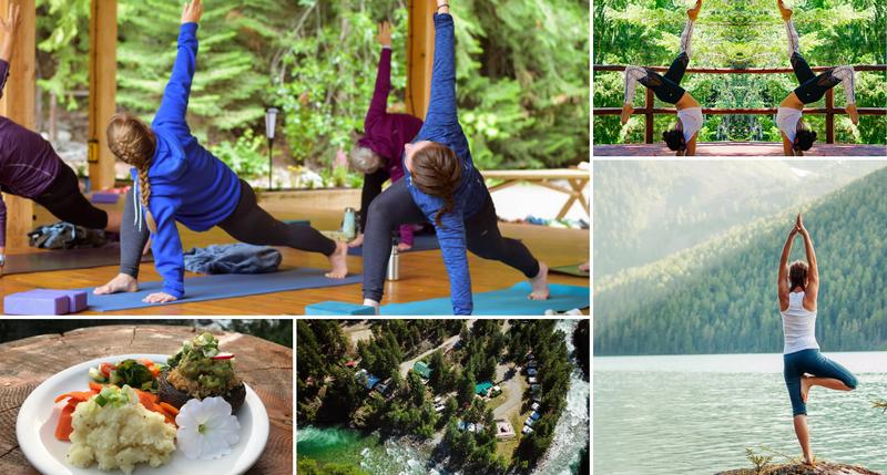 3 day yoga adventure retreat in Canada