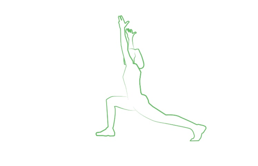 high lunge yoga pose tripaneer