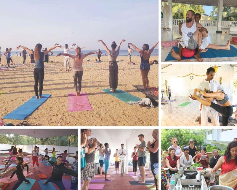26 Day 200-Hour Multi-style Yoga Teacher Training in Goa, India