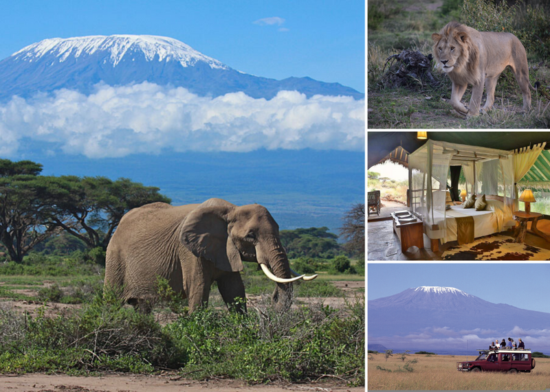 safari in amboseli national park