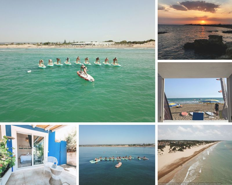 SUP and yoga holiday in sicily italy