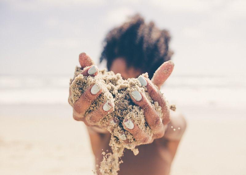 sand-exfoliator