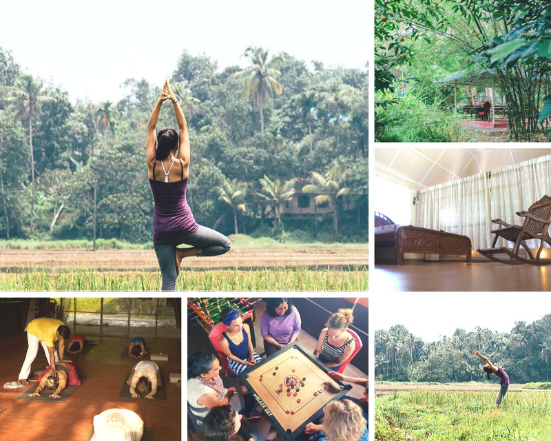 yoga retreat in kerala india