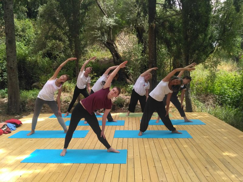 11 days kryia meditation yoga retreat in greece