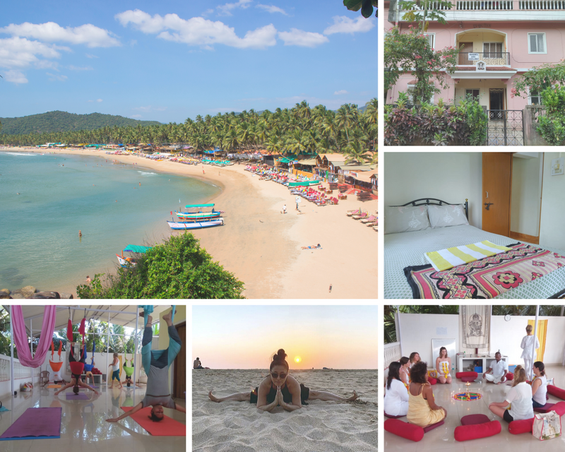 yoga retreat Patnem Beach