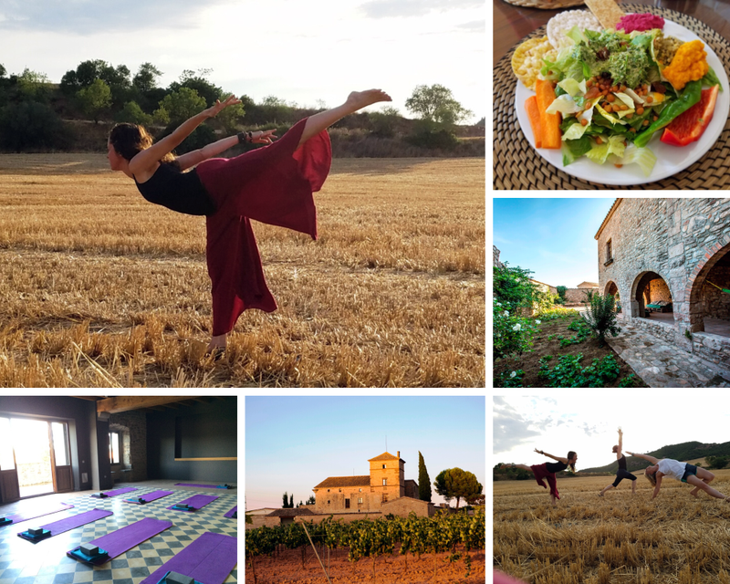 yoga retreat in Catalonia