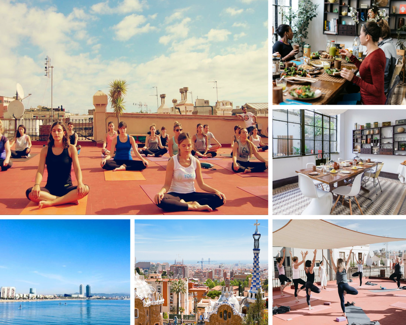 yoga and work in Spain