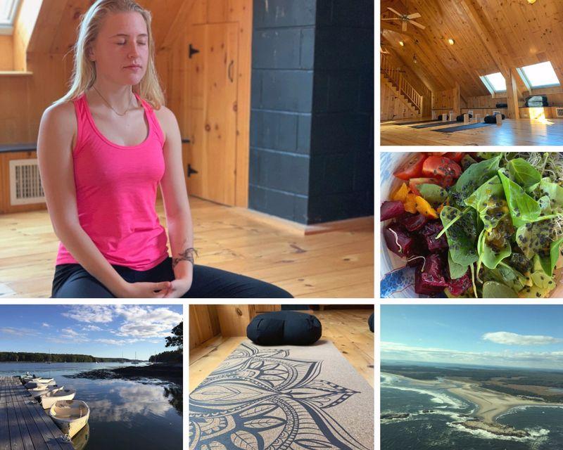 yoga retreat in Maine