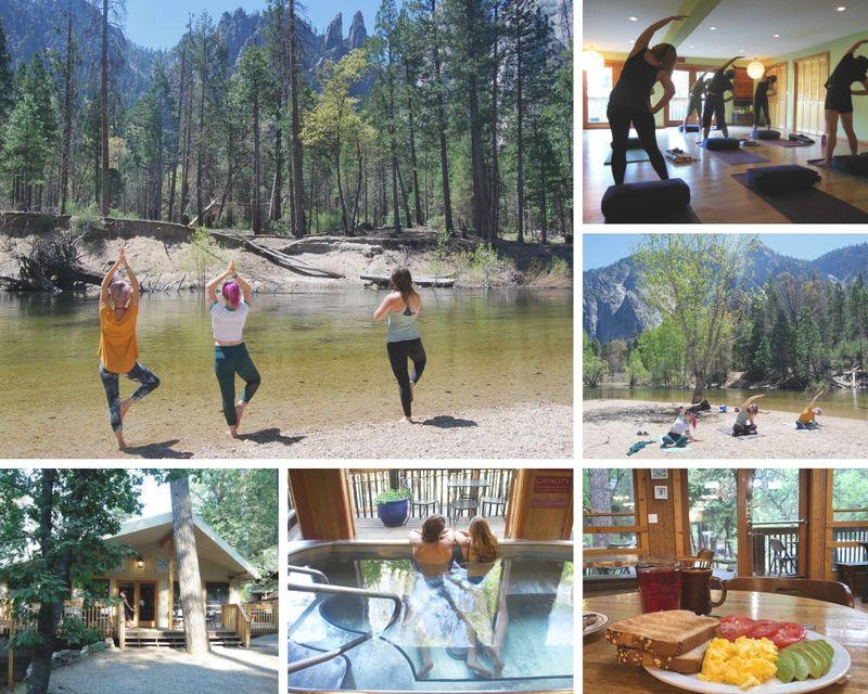 18 Day 200-Hour Yoga Teacher Training near Yosemite National Park in Midpines, California