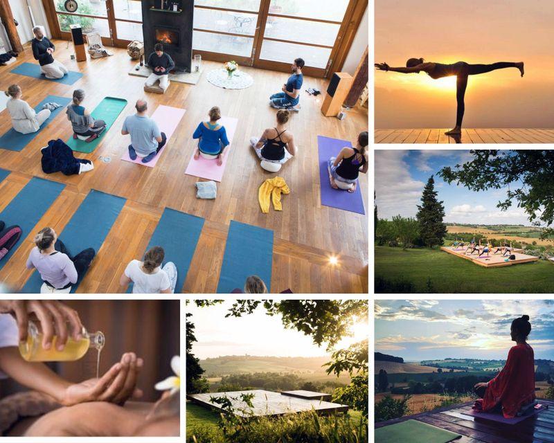 yoga retreat in Southwest France
