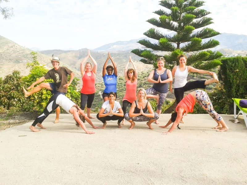 yoga retreat in spain