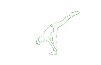 standing split yoga pose tripaneer