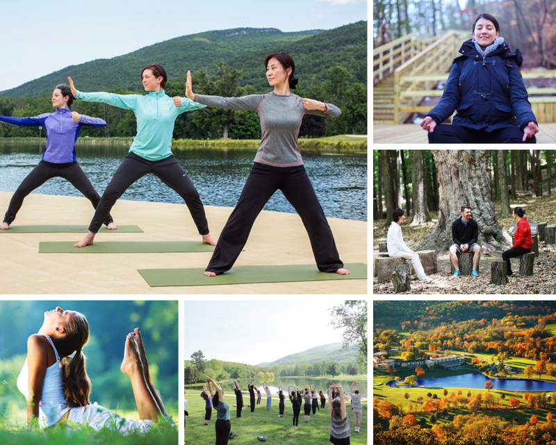 yoga retreat in Castkills