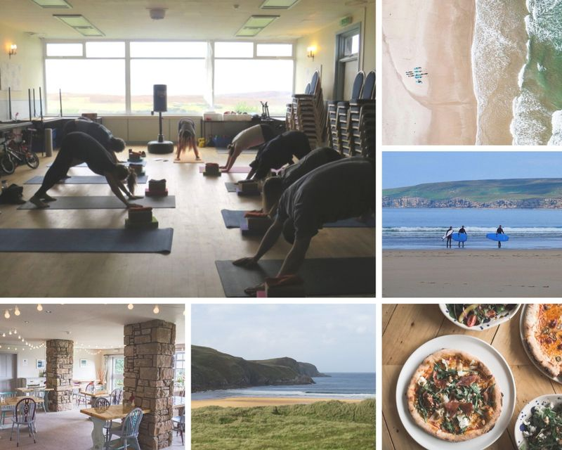 surf camp and yoga in scotland uk