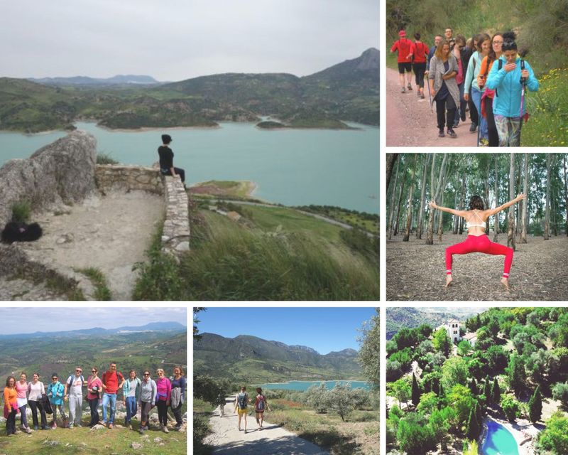3 day nature hiking and yoga retreat in cadiz, spain