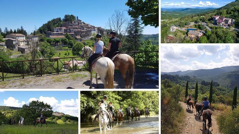 horse riding holiday in tuscany, italy