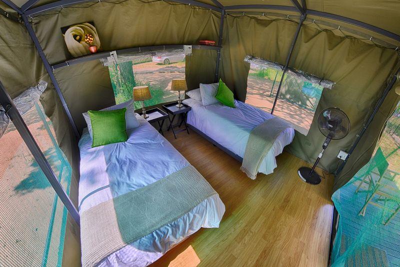 tent in kruger