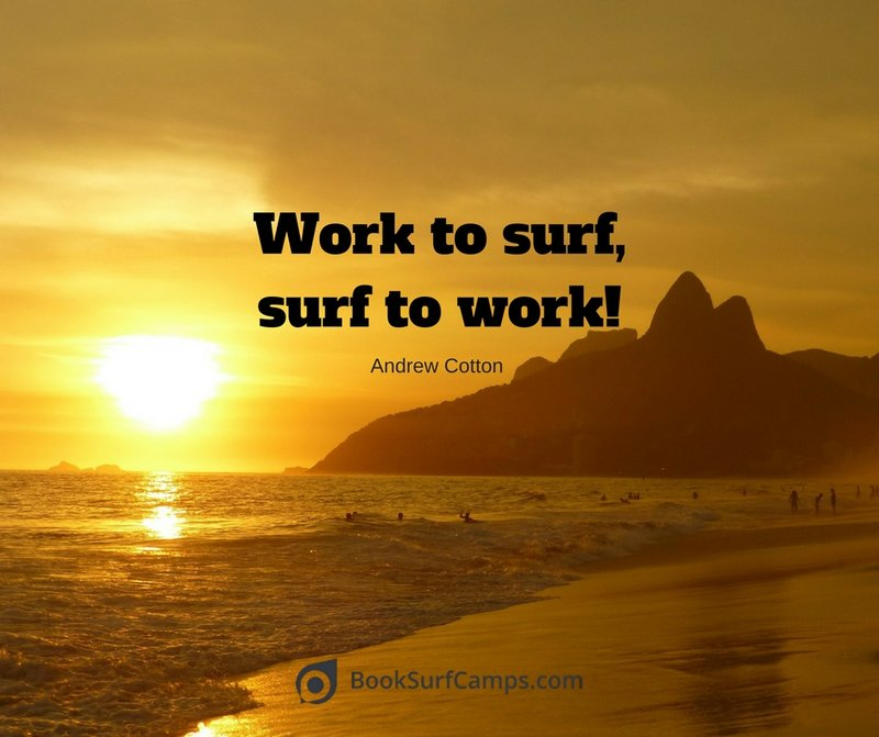 Andrew Cotton Surf Quotes
