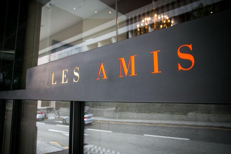 Les Amis restaurant