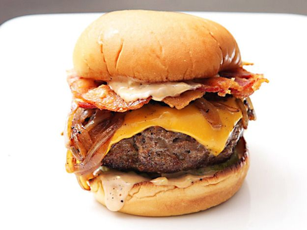 ultimate bacon cheese burger
