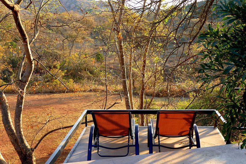 chairs on veranda