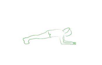 plank ups yoga pose workout tripaneer