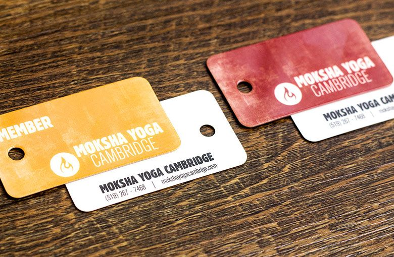 yoga membership key tags