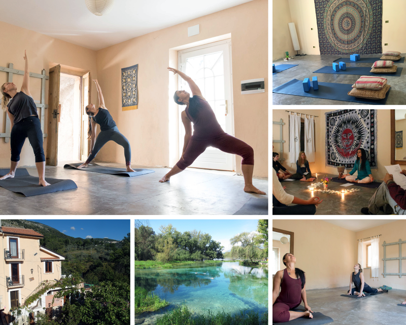 yoga retreat in Italy