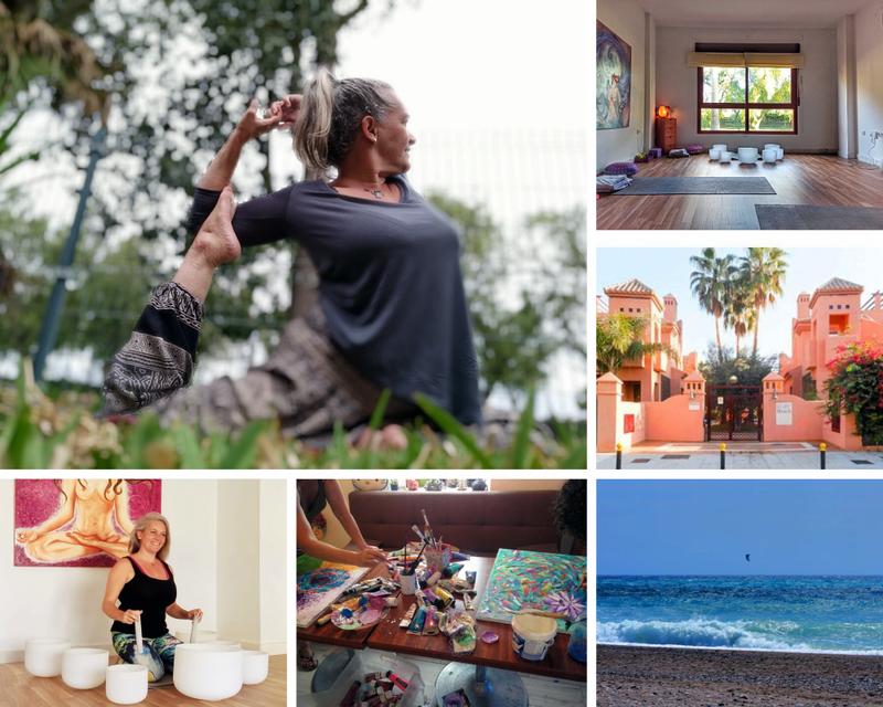 retiro de yoga en Granada