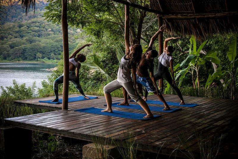 yoga retreat program