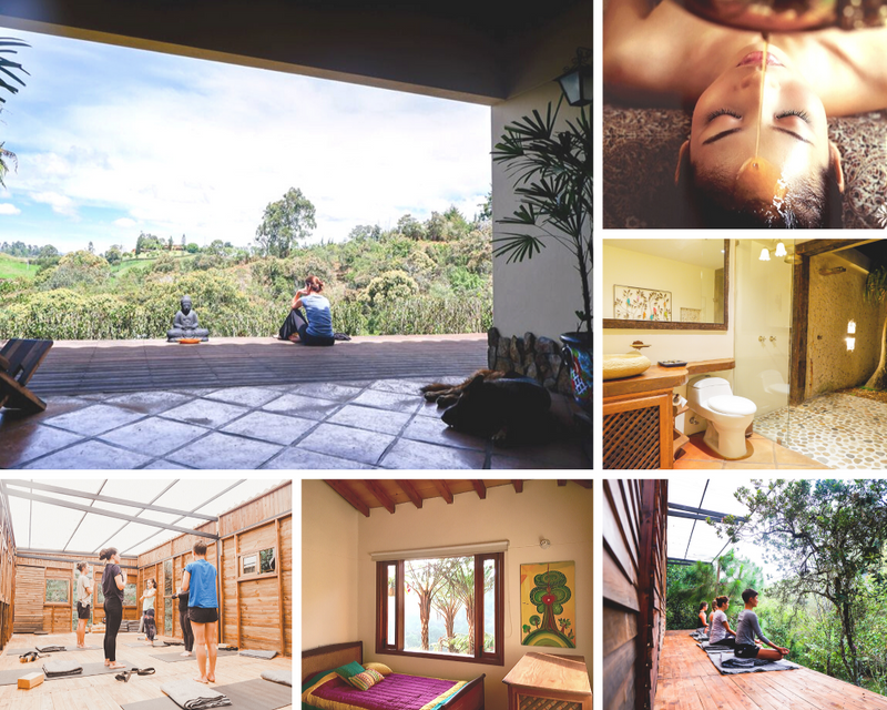 yoga retreat in medellin colombia