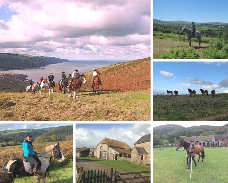 Exmoor horse riding holiday