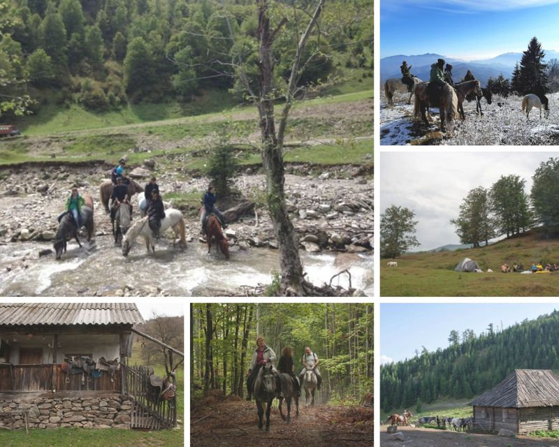 3 Days Holiday on Horseback in the Lotru Mountains, Romania