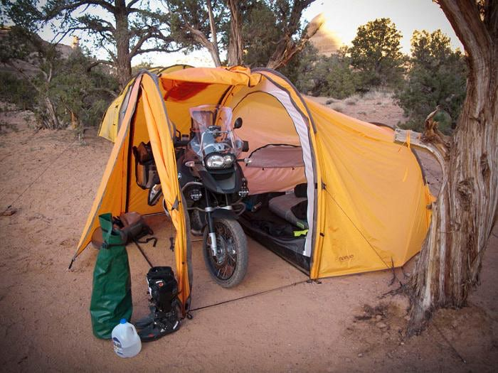 The First-Timer's Guide to Motorcycle Camping in the Great Outdoors ...