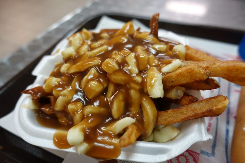 poutines in canada