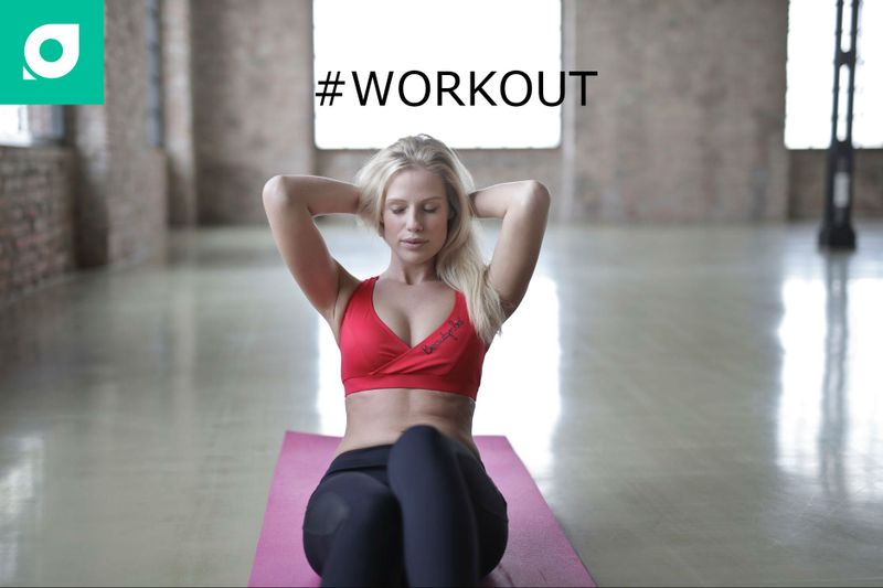 workout hashtag for yoga practice by tripaneer