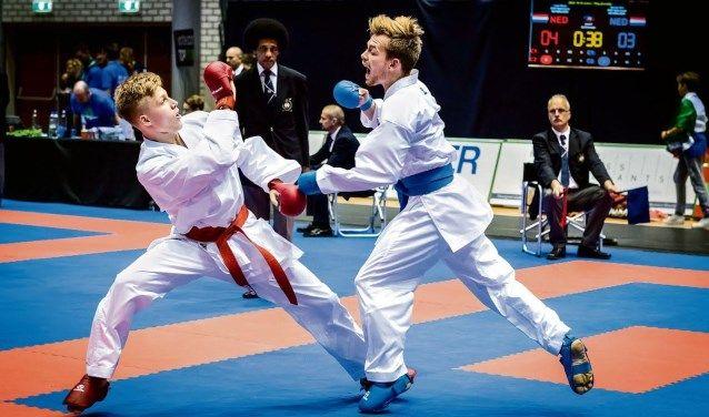 dutch open karate fight