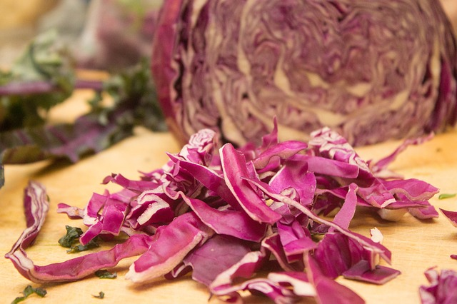 easy healthy recipes: red cabbage