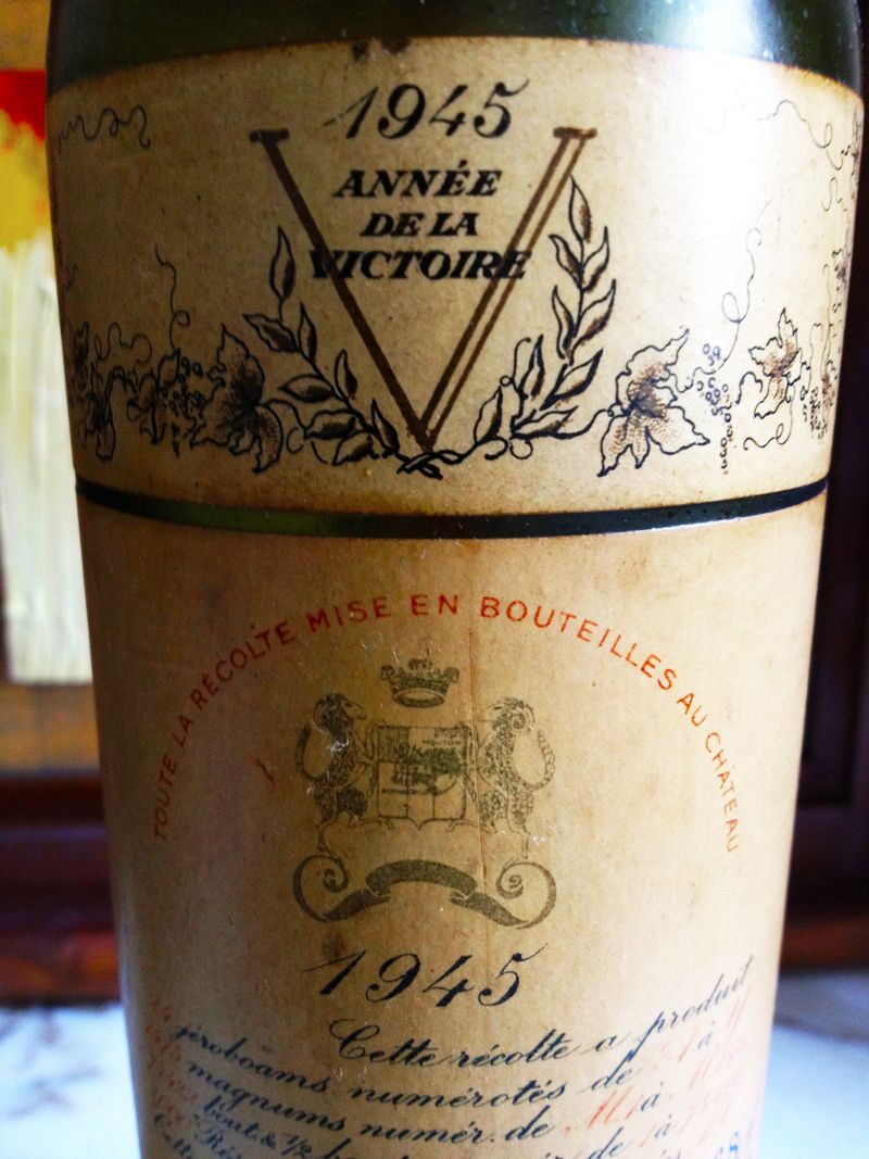 The mouton rothschild 1945