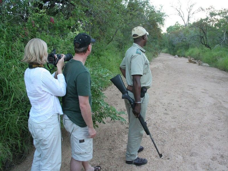 getting out on a game drive