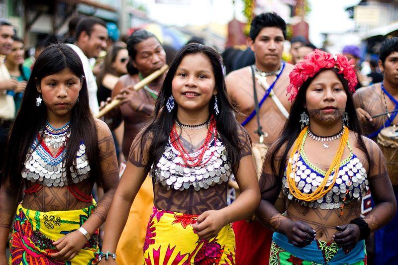 embera ethnicity women in panama