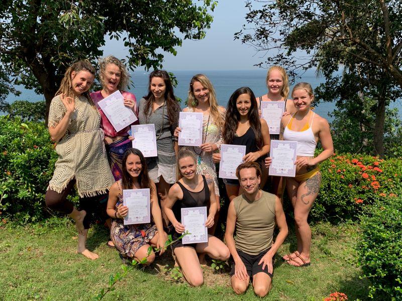yoga teacher training certificates