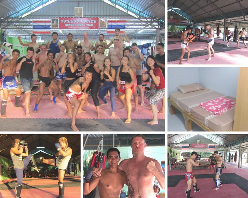 muay thai training in ao nang