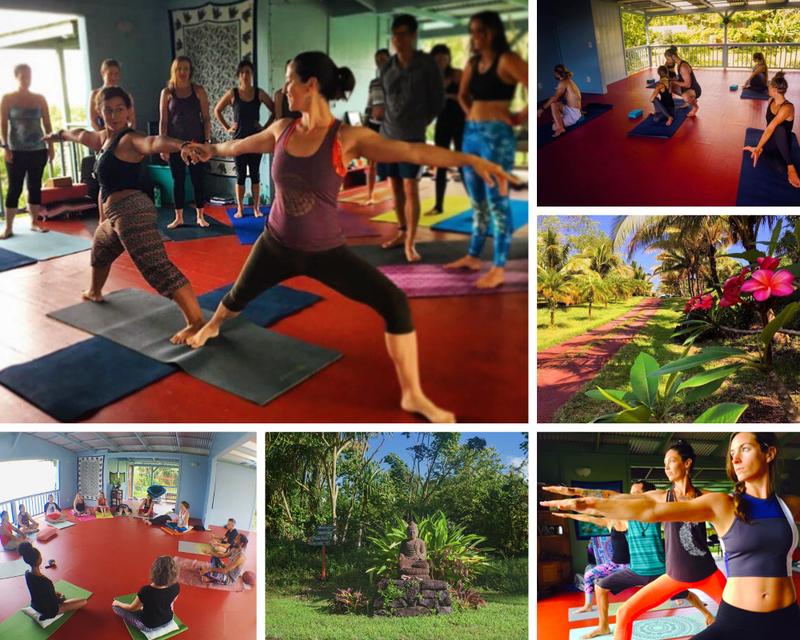 yoga retreat in USA