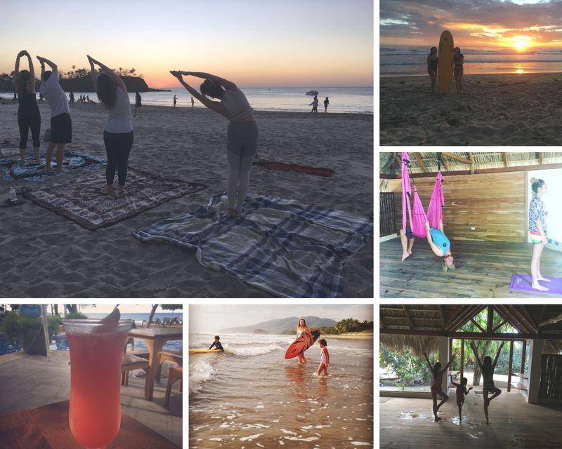 oceanfront yoga retreat guanacaste costa rica